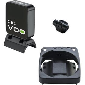 VDO kit para radios M5 / M6 incl. Imán - blanco/negro